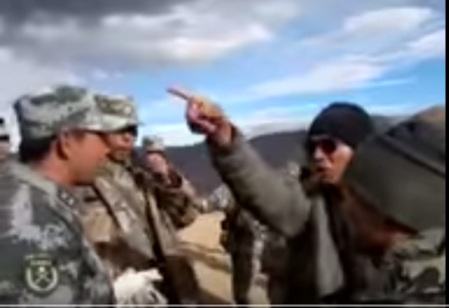 Ladakh witnesses frequent flareups between Indian and Chinese troops. The border is not demarcated, which is intensely patrolled, and both the sides accuse each other of intruding.  A video uploaded in August shows a standoff between Indian an Chinese soldiers at near Tibetan border.