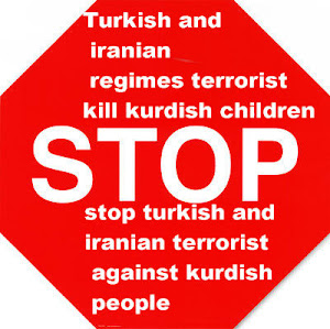 stop iranian and turkish terrorist against kurdish peoles  also against humanrights