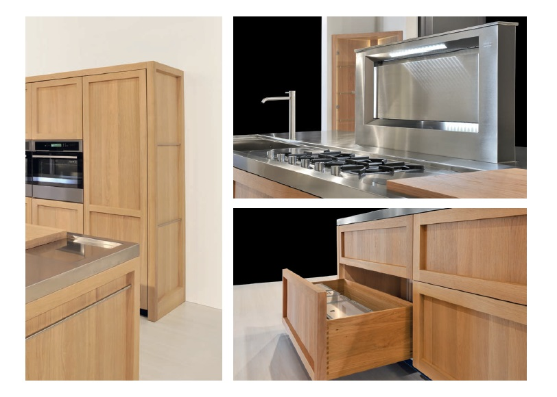 Cucine Italiane - Italian Kitchens: Solid wood modern kitchens