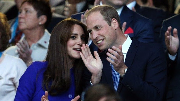 Catherine, Duchess of Cambridge And Duke Of Cambridge At Rugby World Cup Opening Ceremony
