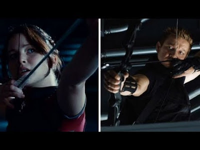 The Avengers vs The Hunger Game in character