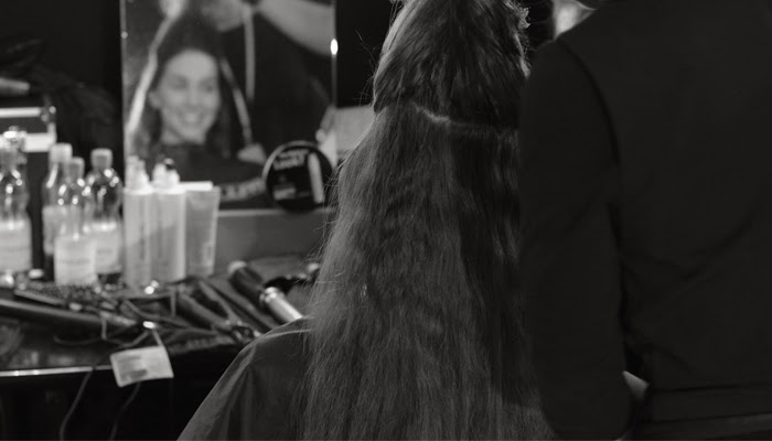 backstage, fashion days, zürich, make-up, hairdressing, tour, video, bangbangblond, alison liaudat