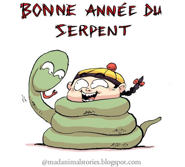 bonne année du serpent