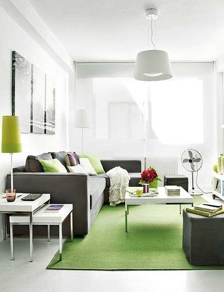 Decoraci n de departamentos y espacios peque os casas for Decoracion espacios pequenos