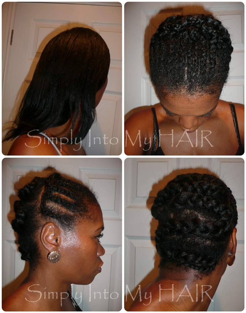 Crochet Braids: Install #5 ~ Long & Straight Kanekalon Hair Simply ...