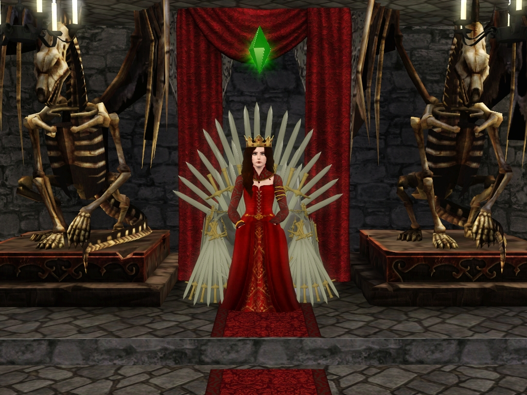 My Sims 3 Blog Iron Throne From Game Of Thrones By Sil