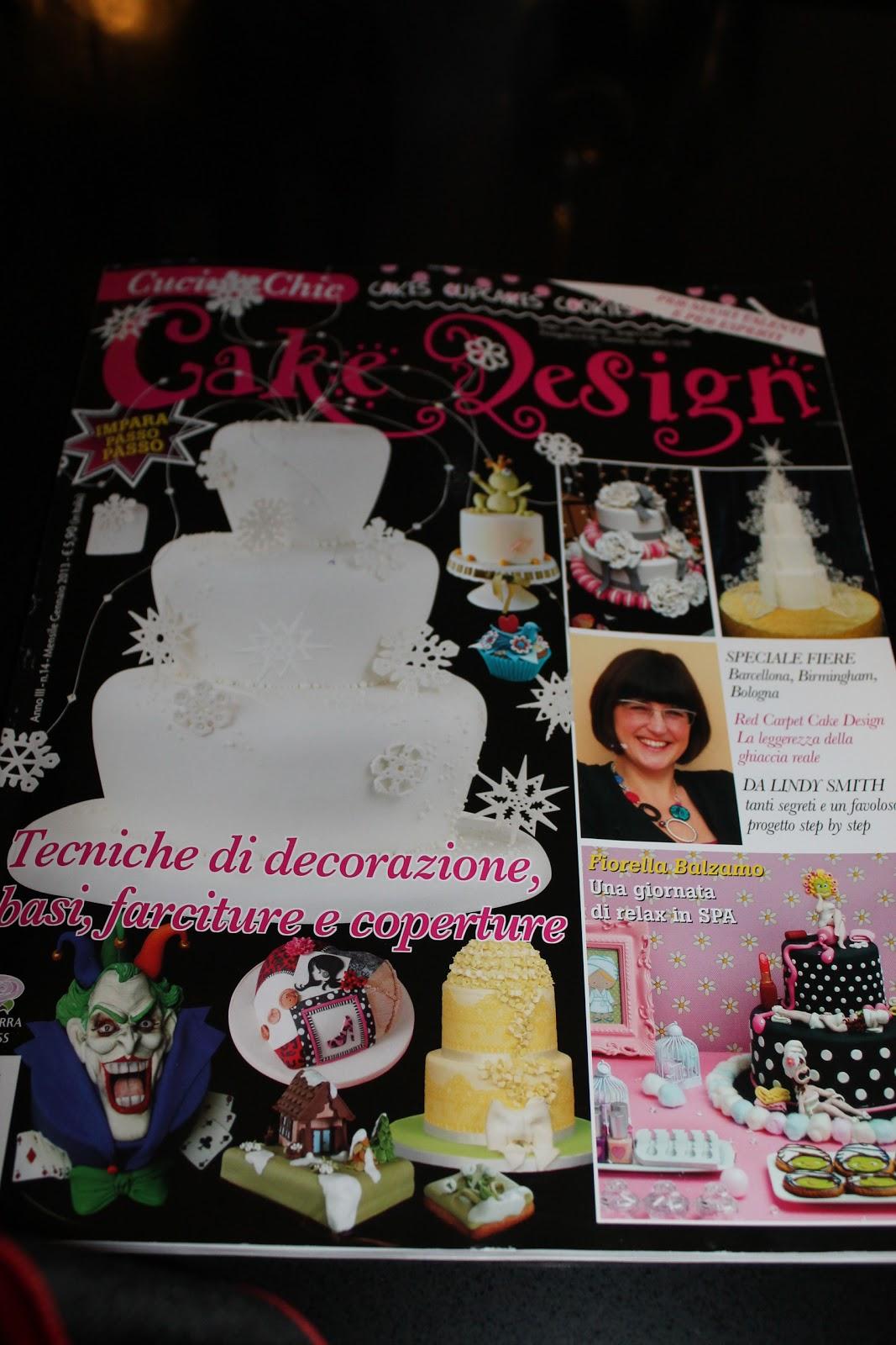 Lara Costantini Cake Designer: IL MIO TUTORIAL SU CUCINA CHIC - CAKE ...