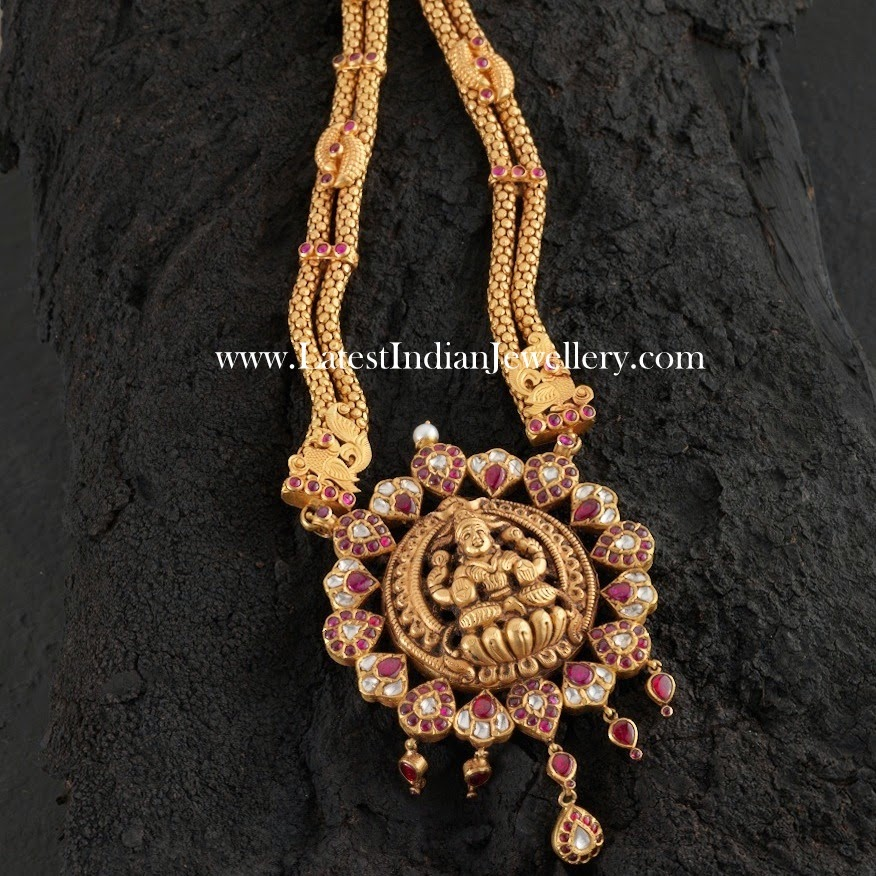 Lakshmi Design Long Necklace