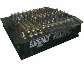 Fungsi-Fungsi Menu Pada Audio Mixer