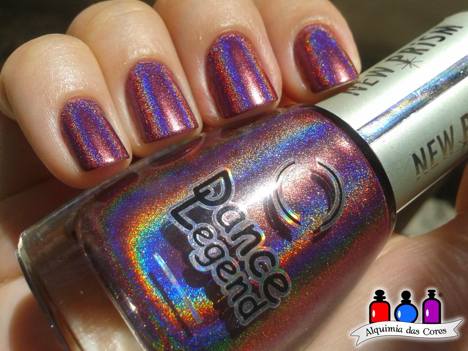 Dance Legend, Roxo, Holográfico, Optical Illusion, Caminie, esmalte, esmalte importado, nail polish