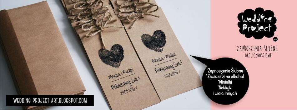 Wedding Project - zaproszenia ślubne , Zaproszenia na Ślub,  zaproszenie ślubne, papeteria ślubna