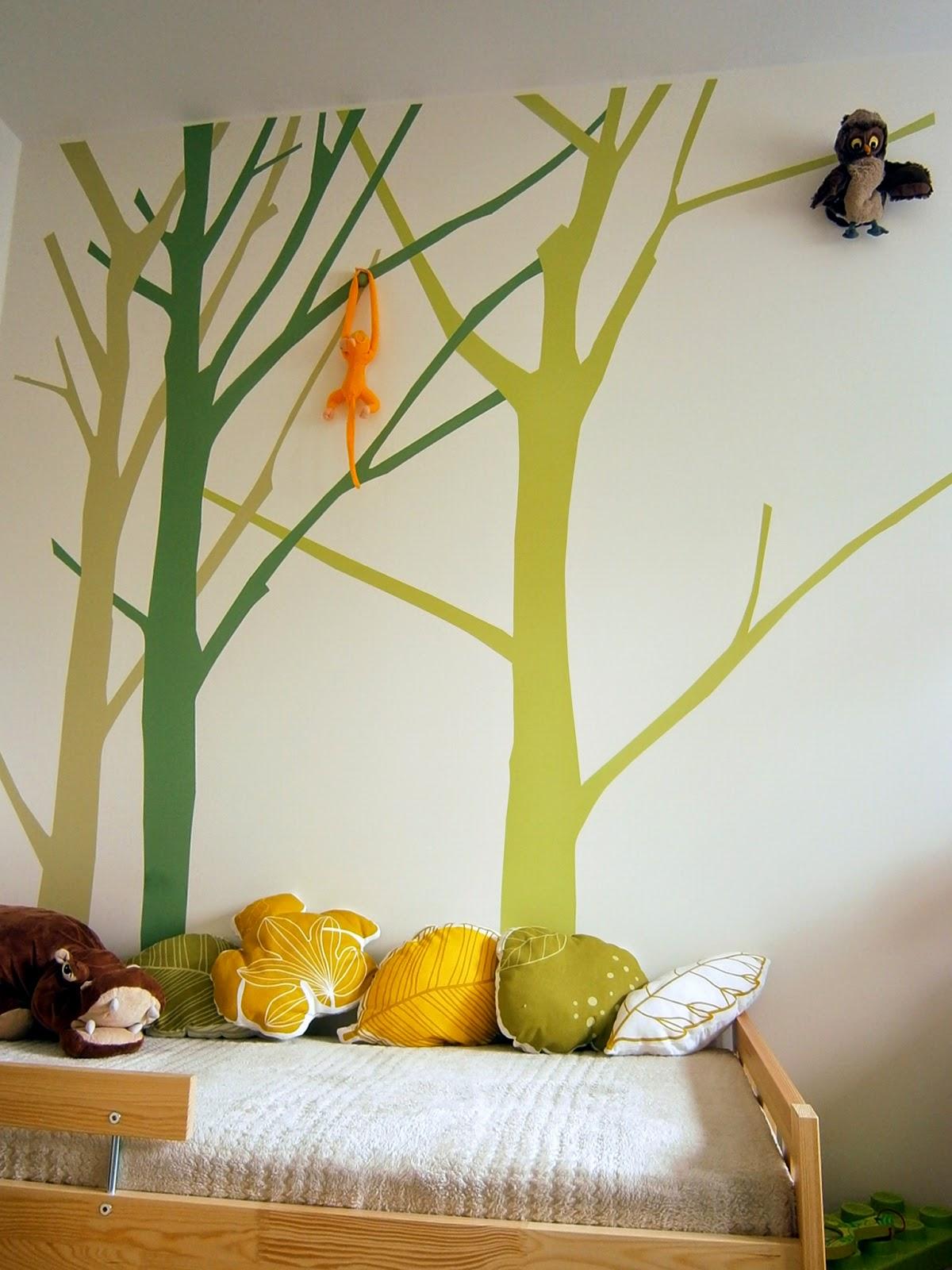 poduszki liście