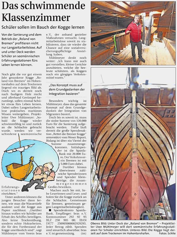 Weser Report vom 29.03.2015