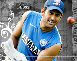 Mahendra Singh Dhoni with Short Haircut - Hairstyle Ideas for Men