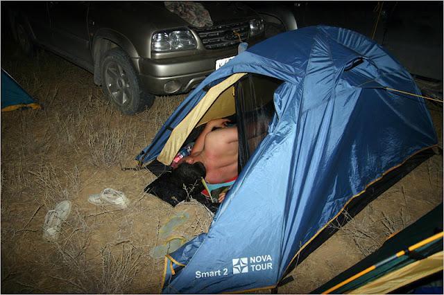 Казахстан, 2011, лагерь