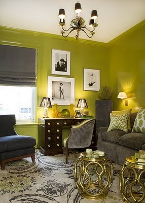 Maple trueheart chartreuse one of my favourite colours - Green and grey room ideas ...