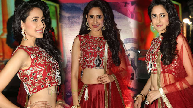 Pragya Jaiswal Latest HD Photos At Kanche Audio Launch
