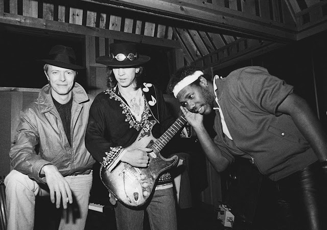 David Bowie, Stevie Ray Vaughan y Nile Rodgers