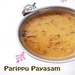 Cherupayar Parippu Payasam