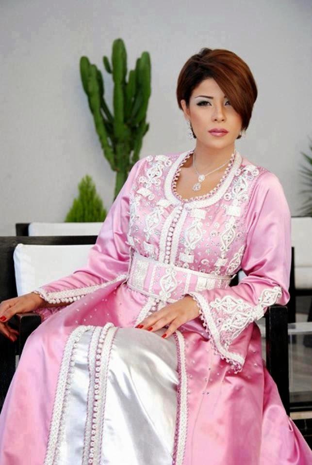caftan luxe rose leila hadioui
