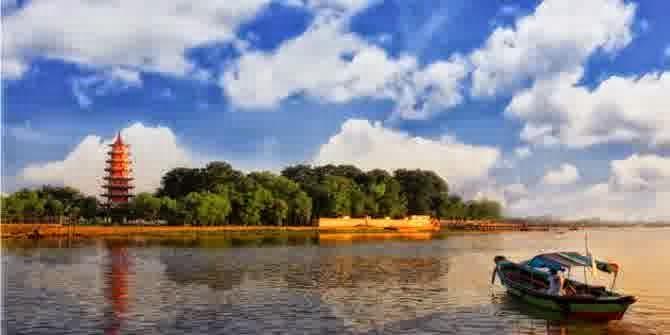 Inilah Kemaro Pulau Romantis yang terkenal Di dunia