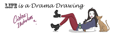 Life is a Drama Drawing
