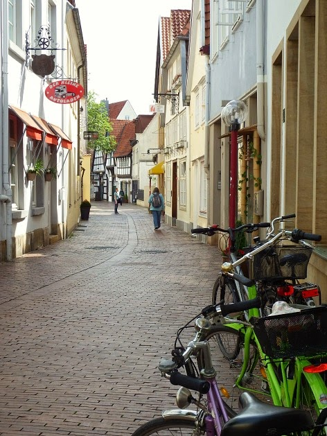 Osnabrück Altstadt Radtour Kultur Marienstraße