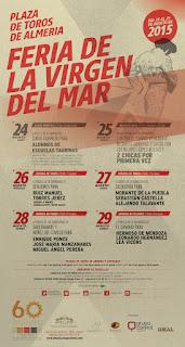 FERIA DE ALMERÍA 2015 Festejos Taurinos
