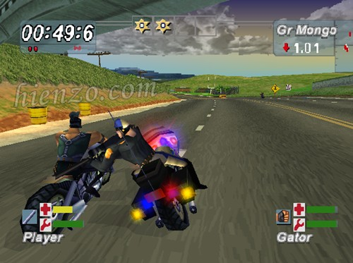Road Rash Jailbreak PS1