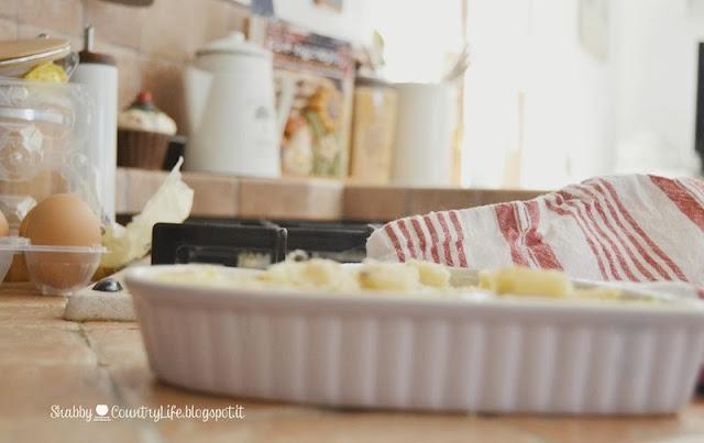 Pirofila a cuore. Frittata-Shabby&Countrylife.blogspot.it
