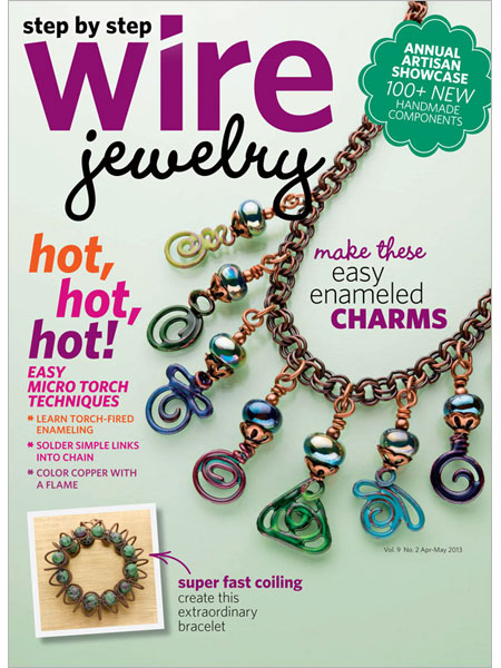 Step By Step Wire Magazine, April / March 2013