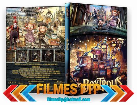 Os Boxtrolls 2014 DVD-R OFICIAL