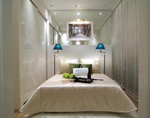 CUANDO SOLO ENTRA LA CAMA via www.dormitorios.blogspot.com