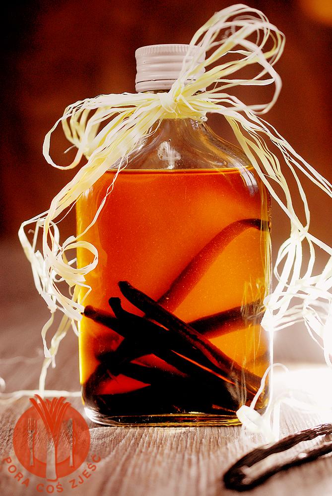 Domowy ekstrakt z wanilii