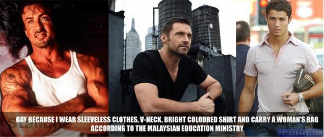 panduan mengenali simptom gay lesbian kementerian pelajaran malaysia