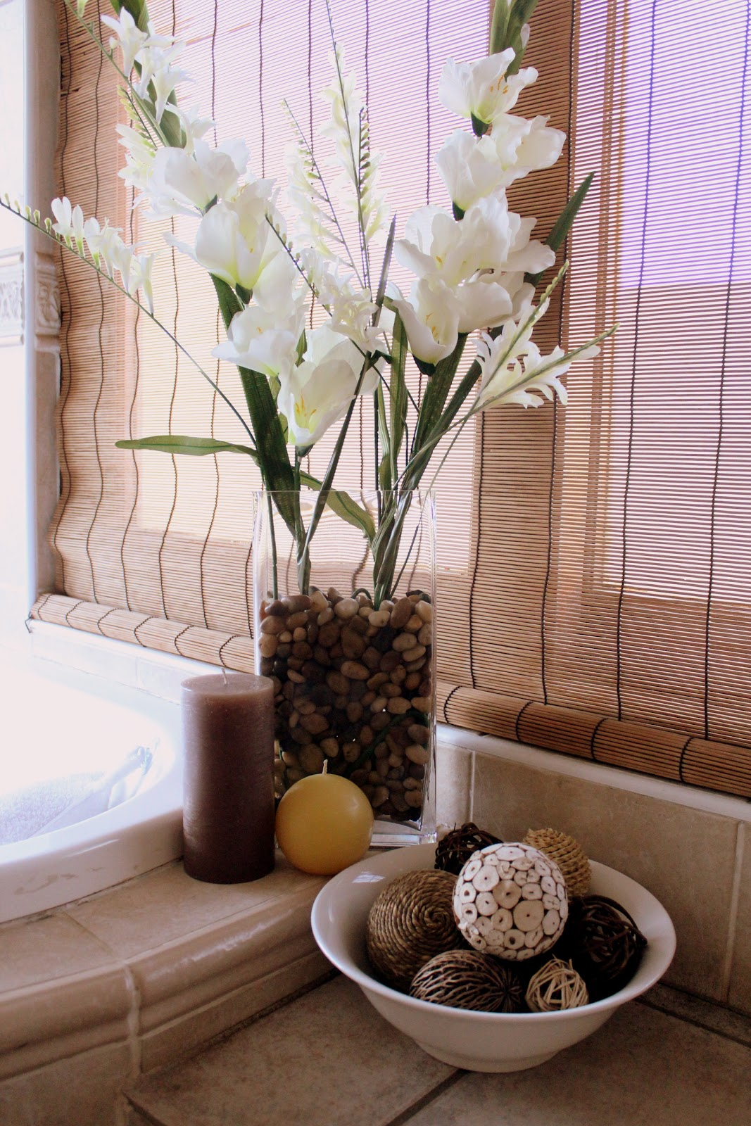 Everyday jessica spa master bathroom for Bathroom ideas spa themed