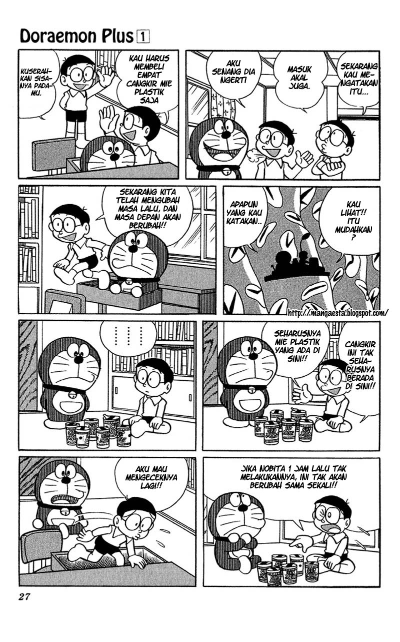 Baca Komik Doraemon Plus Vol 1 Chapter 003 - Halaman 05