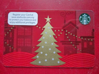 Starbucks Coffee Malaysia Asia Christmas 2013 cards Tree Cups Merry Snowman