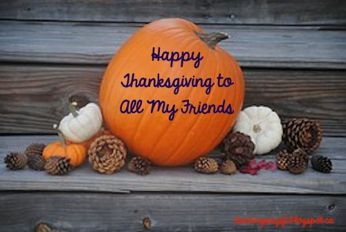 Picture of Happy Thanksgiving at Teachingisagift.blogspot.ca
