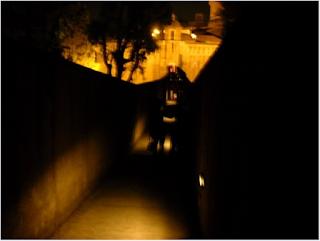 Un altro tratto del corridoio di Borgo
