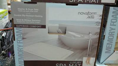 Practical Novaform Memory Foam Bath Mats at Costco