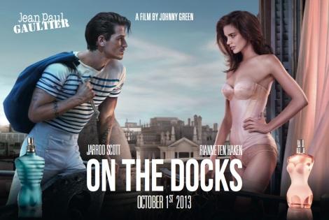 Jean Paul Gaultier 'On The Docks' Film Poster with Jarrod Scott and Rianne ten Haken