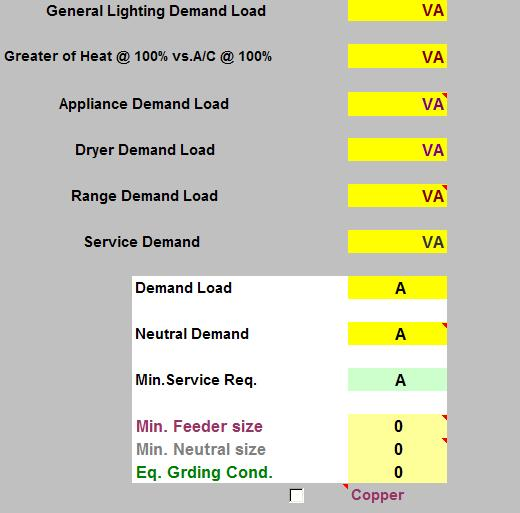 Residential Electrical Load Calculation Worksheet | Worksheet ...