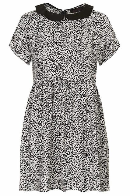 small leopard print dress