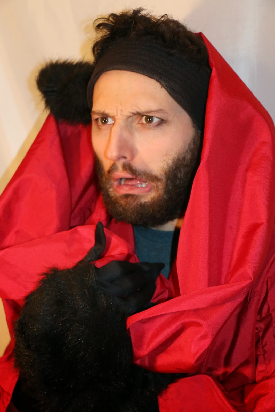THE CHARMING BIG BAD WOLF-1E-RED RIDING HOOD 2015--GLEAMS THEATER--IRA SOKOLOVA- PHOTO: SHAHRZAD GHAFFARI WESTMOUNT, QUEBEC, CANADA