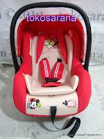 Baby Carrier dan Baby Car Seat Pliko Disney DB-07B Group 0 dan 0+ (0 - 13kg)