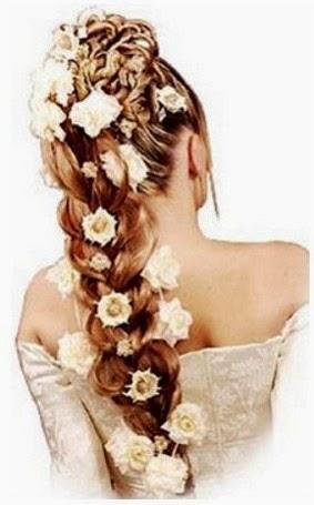New Wedding Hairstyle Flowers|http://refreshrose.blogspot.com/