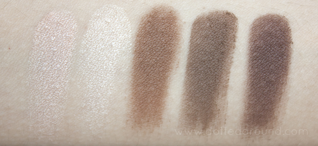 Urban Decay Naked Basics dupes swatches