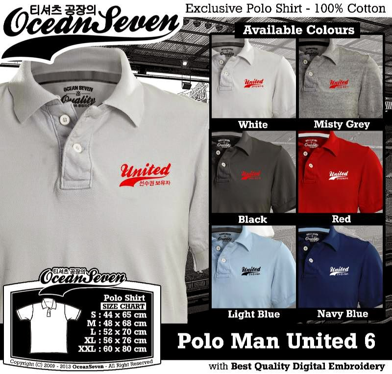 Kaos Polo Man United 6
