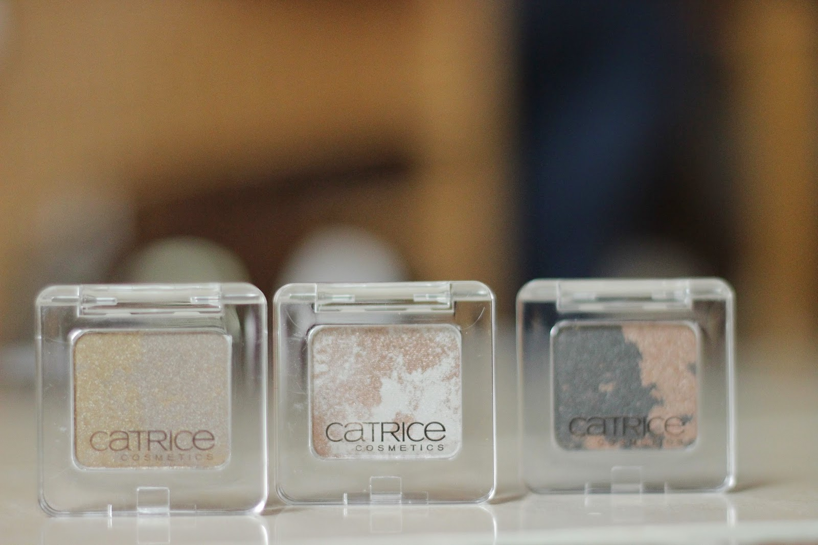catrice metallure eye shadows mascara topper en liner review swatches full face
